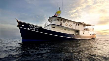 Giamani Scuba Diving Liveaboard Phuket Thailand