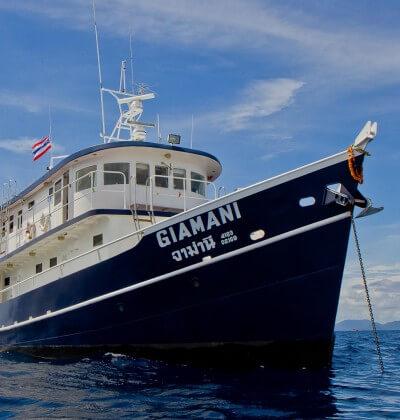 Giamani Scuba Diving Liveaboard Phuket Thailand Giamani Best