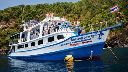 MV Dolphin Queen Koh Similan Budget Liveaboard Scuba Diving