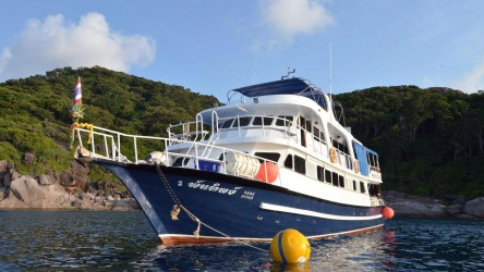Andaman Tritan Similan Islands Liveaboard Scuba Diving