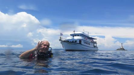 Day Dives Shark Point Padi Aussie Divers Phuket Best Scuba Diving