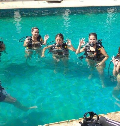 Free Pool Try Scuba Diver Aussie Divers Phuket