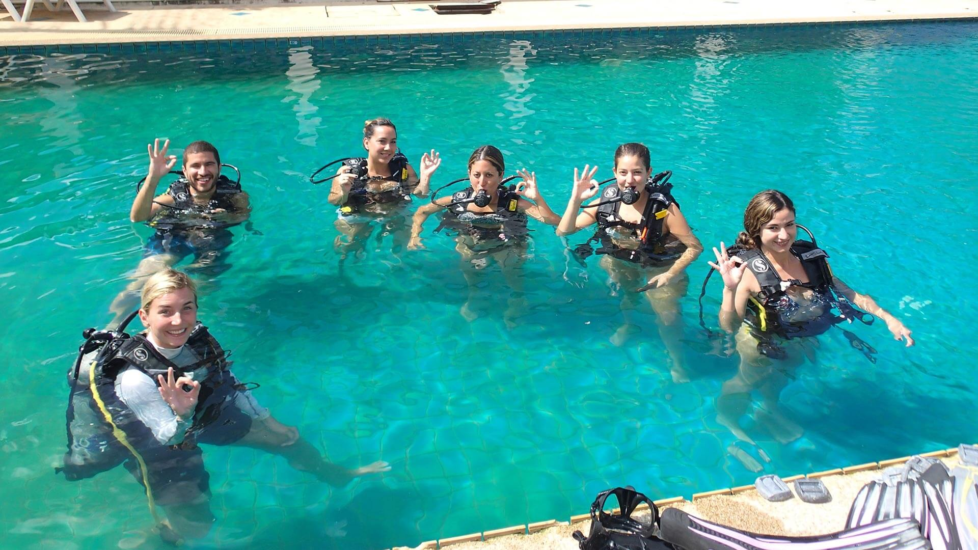 Do i need to know how to swim to scuba dive aussie divers phuket - Dive in scuba ...