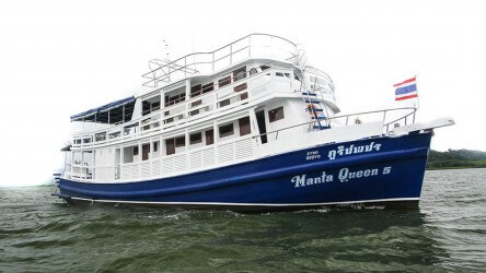 Manta Queen 5 Liveaboard Similan Islands Aussie Divers