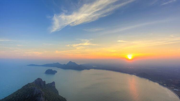 Phuket Island Sunset Holiday Scuba Diving Thailand