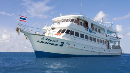 Somboon 3 Similan Islands Overnight Liveaboard Scuba Diving Phuket
