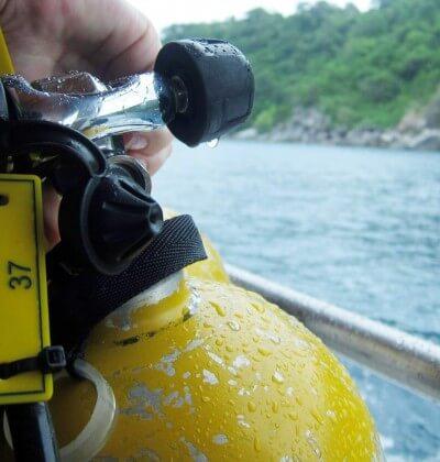 Tank PADI Aussie Divers Phuket Best Scuba Diving