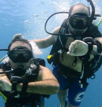 Underwater Navigation PADI Advanced Open Water Course Aussie Divers Phuket