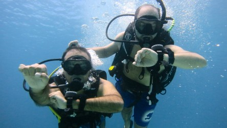 Underwater Navigation PADI Advanced Open Water Course Aussie Divers Phuket