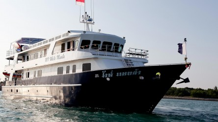 White Manta Scuba Diving Liveaboard Phuket Thailand