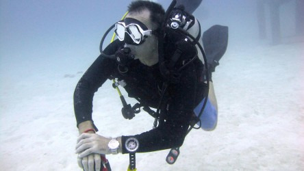 PADI Course Director Darren Gaspari Scuba Diving Aussie Divers Phuket