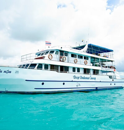 Deep Andaman Queen Scuba Diving Liveaboard Phuket Thailand