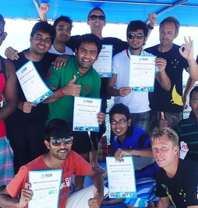 Happy Divers Padi Discover Scuba Diving Racha Yai Phuket Best