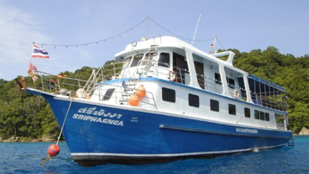 Manta Queen 1 Liveaboard Scuba Diving Similan Islands Budget