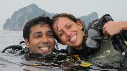 PADI Open Water Course Scuba Diving Phi Phi Aussie Diver Phuket Best