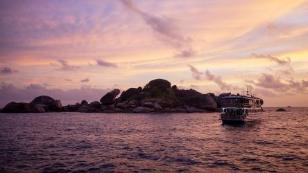 Scuba Diving Sunset Phuket Liveaboard Thailand