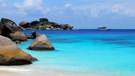 Similan Islands Scuba Diving Liveaboard Phuket Thailand