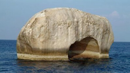 Elephant Head Rock Similan Islands Liveaboard Phuket Thailand