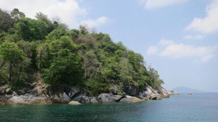 Home Run Reef Racha Yai Scuba Diving Day Trip Phuket Thailand