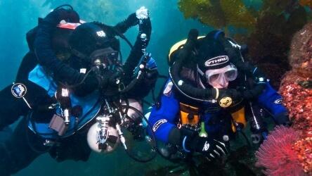 TEC CCR PADI Aussie Divers Phuket Best Thailand