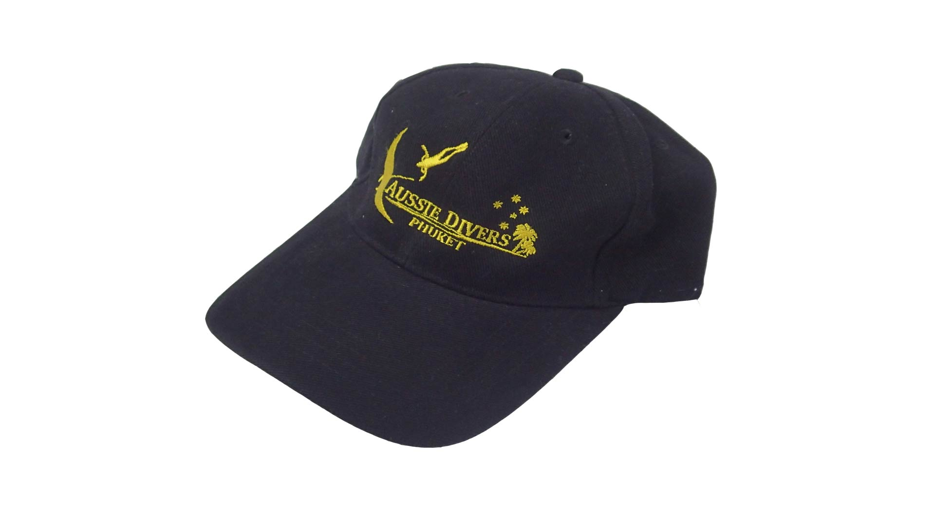 Aussie Divers Cap – Black – Only THB 500 – OUT OF STOCK