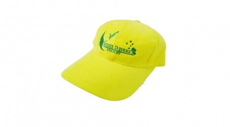 Aussie Divers Phuket Cap Yellow
