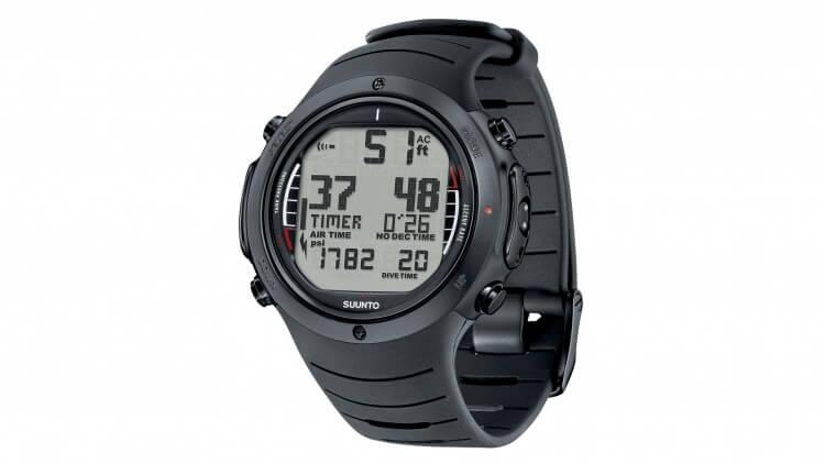 Suunto D6i All Black Elastomer Best Price Aussie Divers Phuket