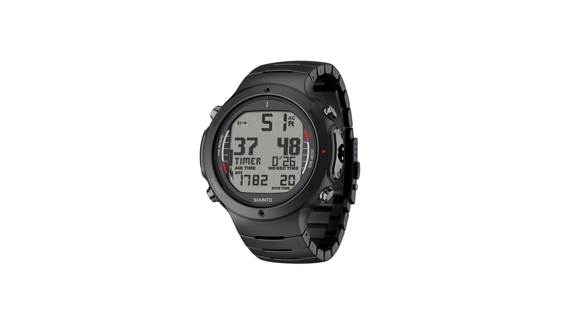 Suunto D6i all Black Steel – THB 45,505