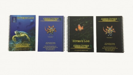 Aussie Divers Phuket Log Book Scuba Diving Thailand