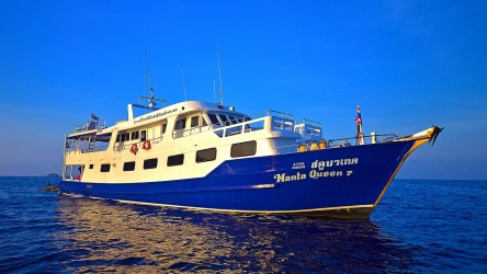 Manta Queen 7 Similan Islands Scuba Diving Liveaboard Phuket Thailand