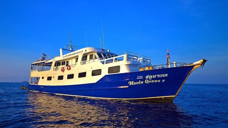 Manta Queen 7 Similan Islands Scuba Diving Liveaboard Phuket Thailand