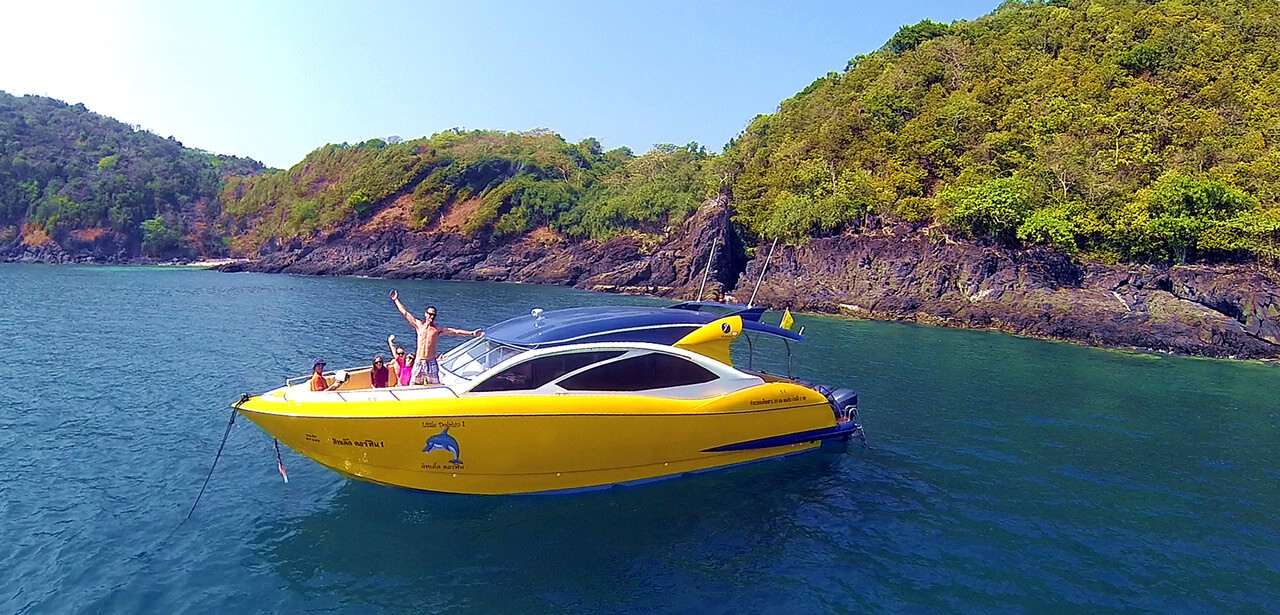 Aussie Divers Phuket – Luxury Speedboat