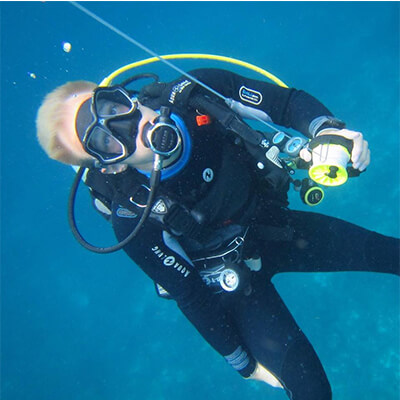Tom Domville - PADI Instructor