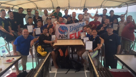 PADI IDC Aussie Divers Phuket Award Course Director