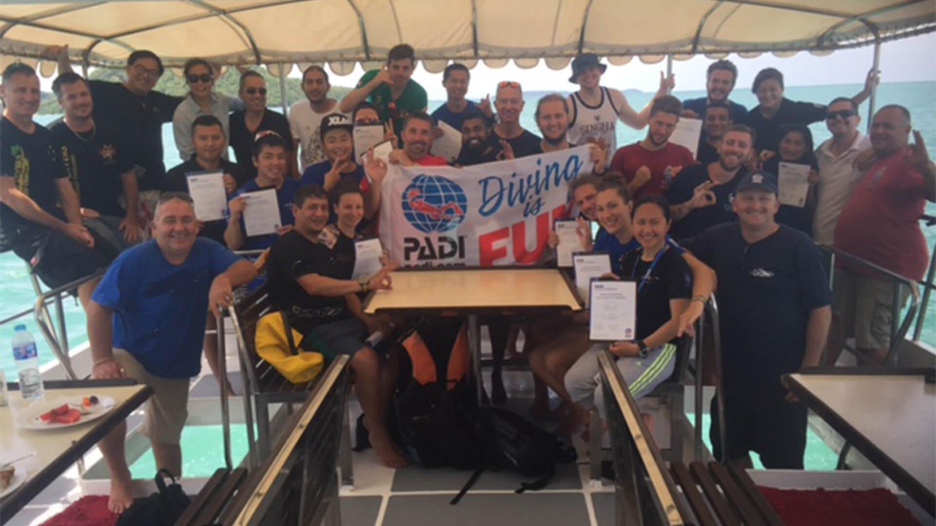 PADI Scuba Diving Instructor