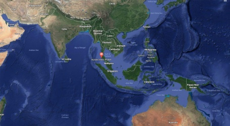 Aussie Divers Phuket World Map Scuba Diving