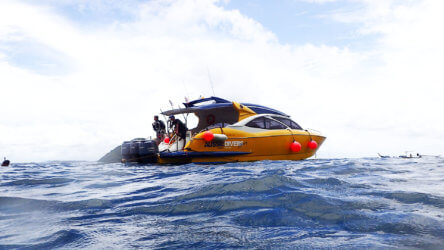 Aussie Divers Phuket Boat Coral Island