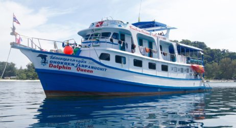 Dolphin Queen Similan Liveaboard Phuket Aussie Divers Scuba