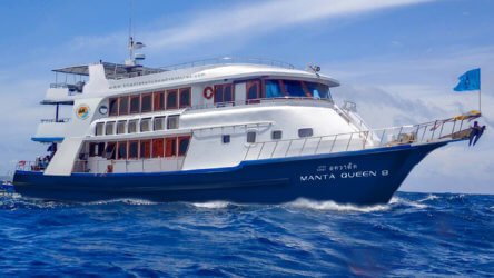 Manta Queen 8 Scuba Diving Phuket Liveaboard