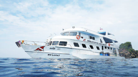 MV Lapat Similan Islands Liveaboard Thailand Phuket Scuba Diving