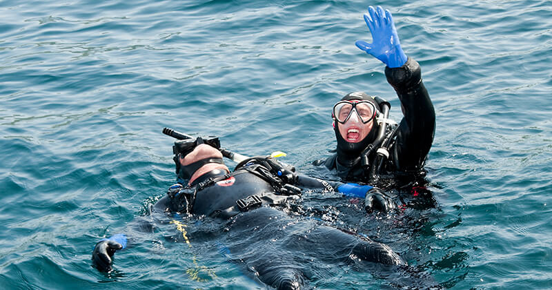 Becoming a PADI Rescue Diver