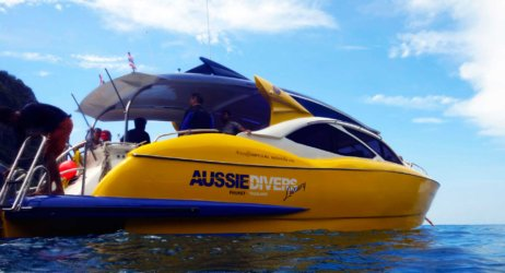 Aussie Divers Luxury Phuket Day Trip Speedboat