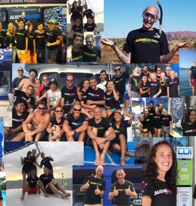 Aussie Divers Phuket ADEX Giveaway Tshirt Promotion