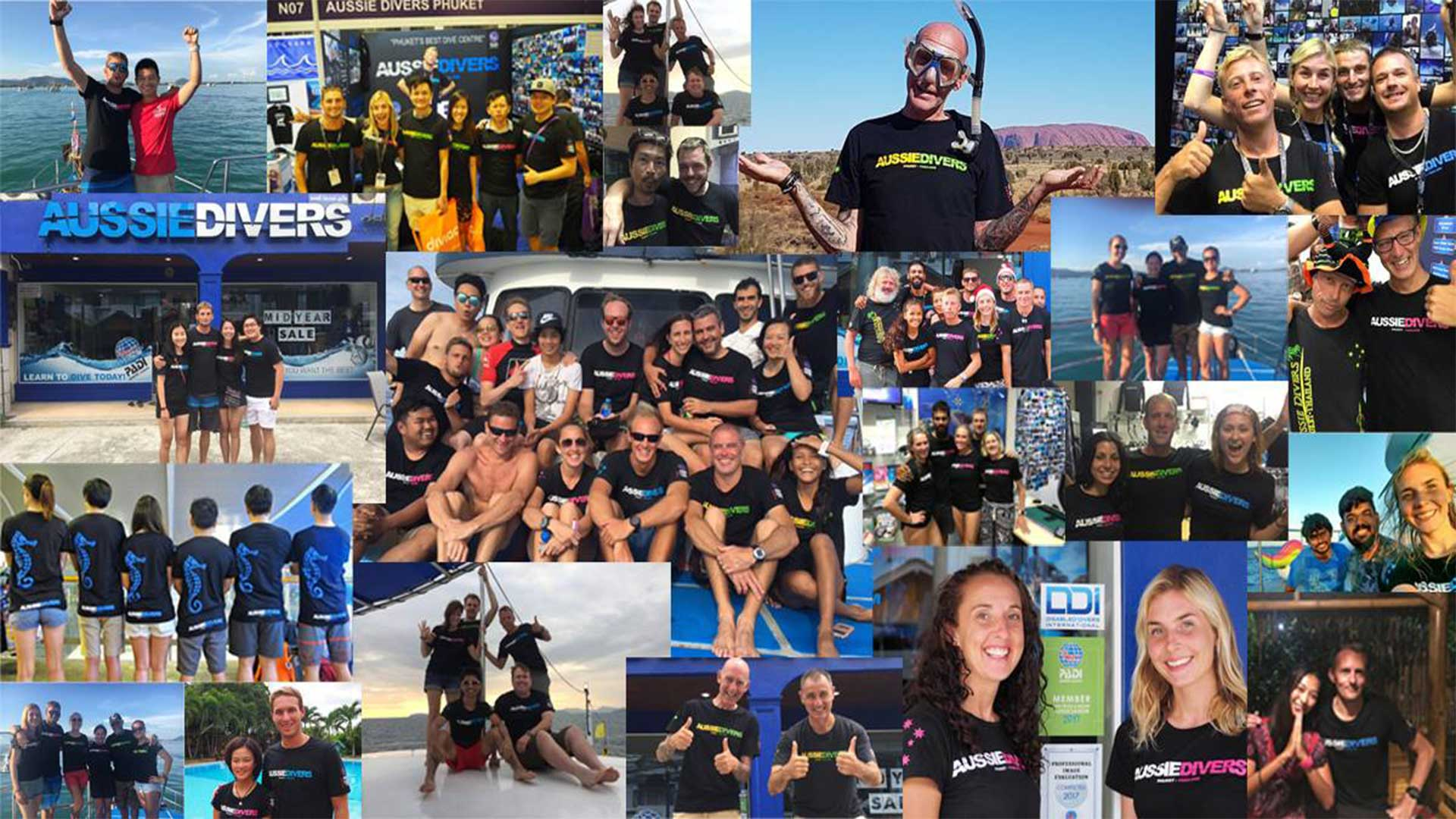Aussie Divers Phuket – Wear Your Aussie Divers T-shirt to ADEX Singapore and Win