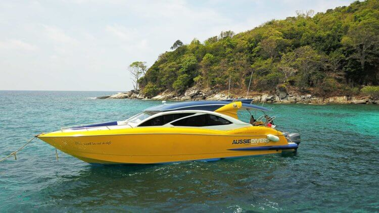Aussie Divers Seedboat Luxury Phuket