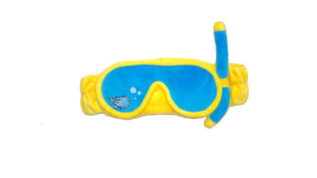 Aussie Divers Phuket Sleep Mask Yellow