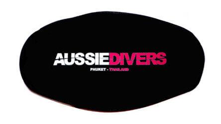 Aussie Divers Phuket Mask Strap Pink