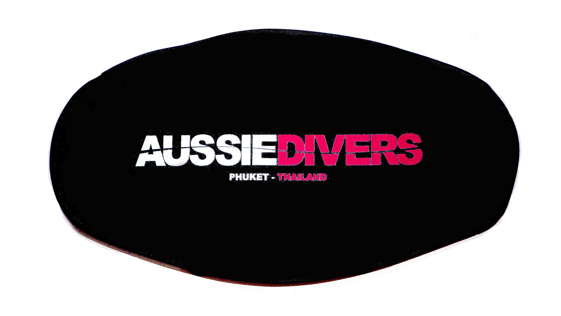 Aussie Divers Phuket – Mask Straps -Black/Pink – Only THB 200 each
