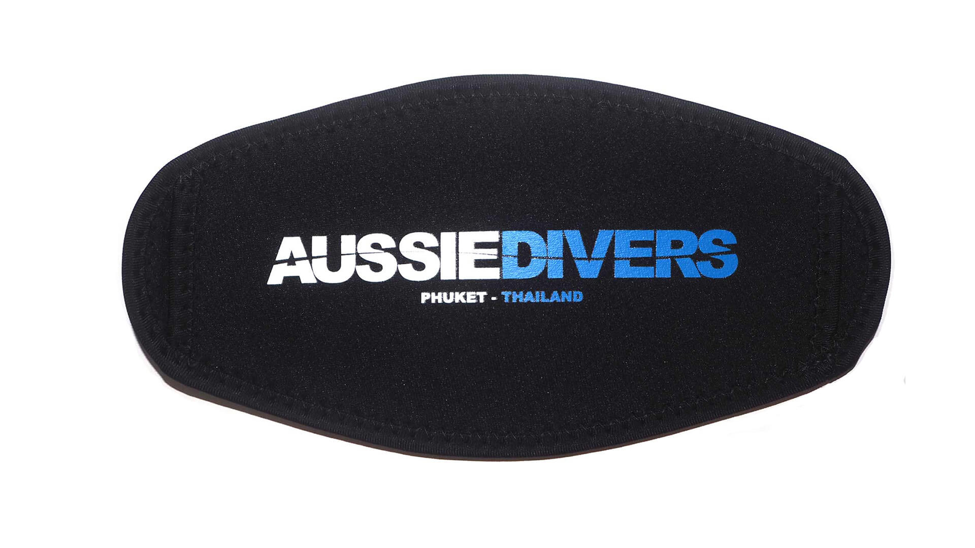 Aussie Divers Phuket – Mask Straps -Black/Blue – Only THB 200 each