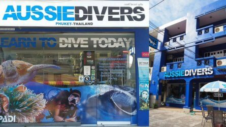 Aussie Divers Phuket Shops Thailand Patong Chalong